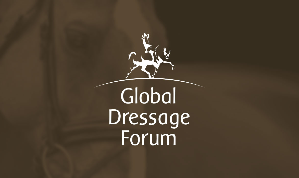 Ontwerp Logo Global Dressage Forum