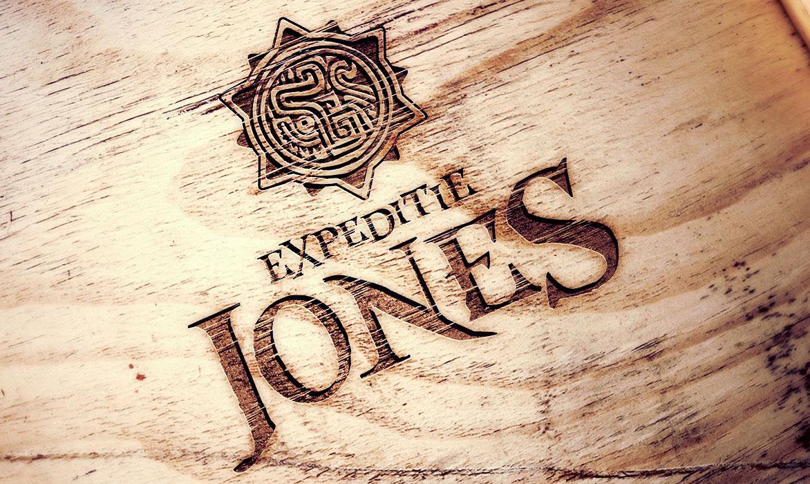 Ontwerp logo expeditie jones
