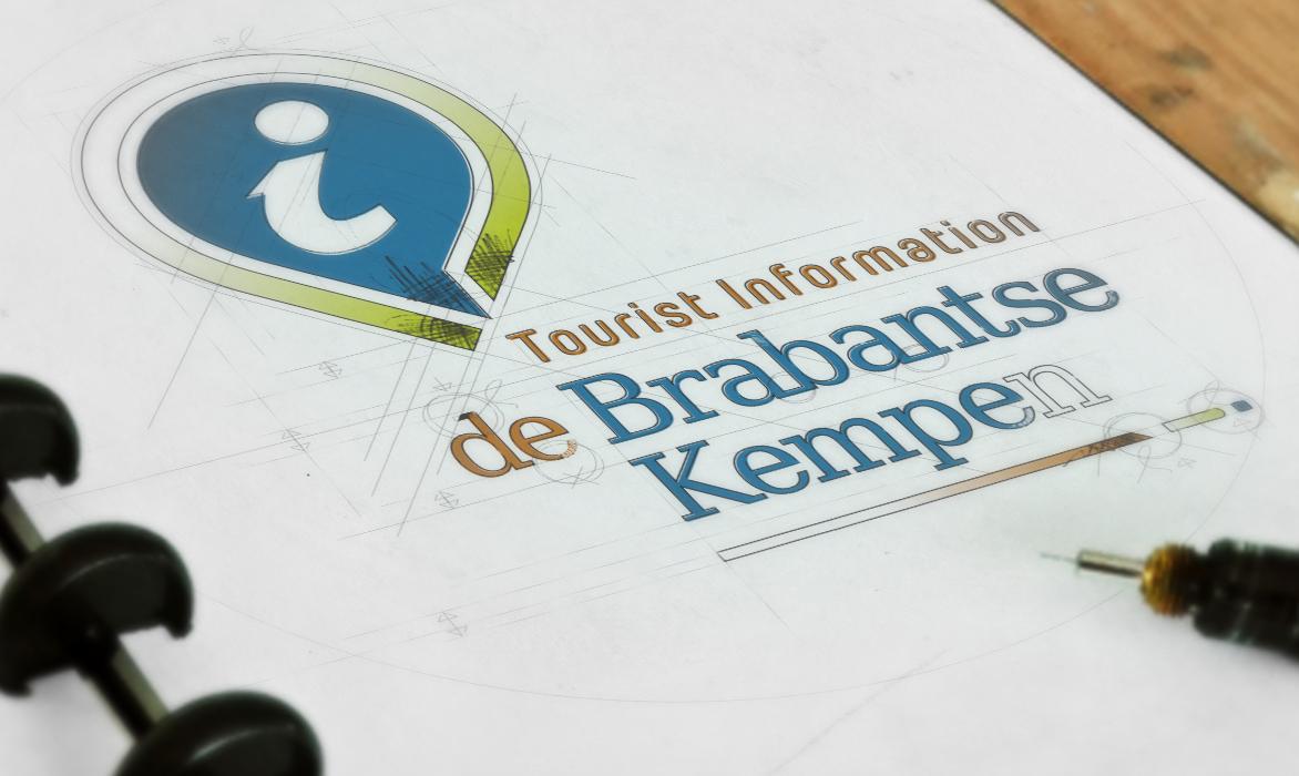 Ontwerp logo TIP De Brabantse Kempen