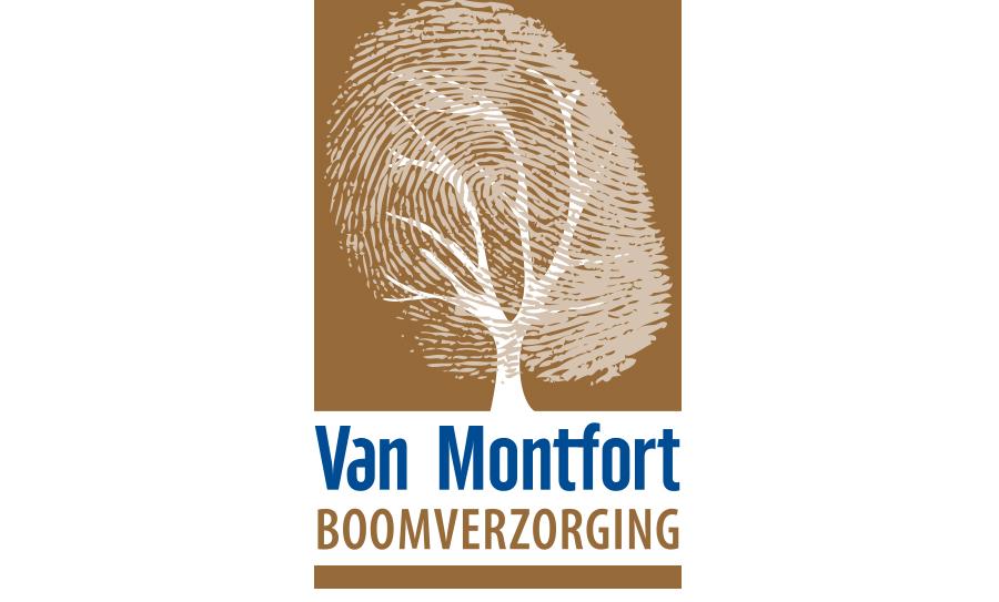 Logo ontwerp Van Montfort Boomverzorging - Comcorde+