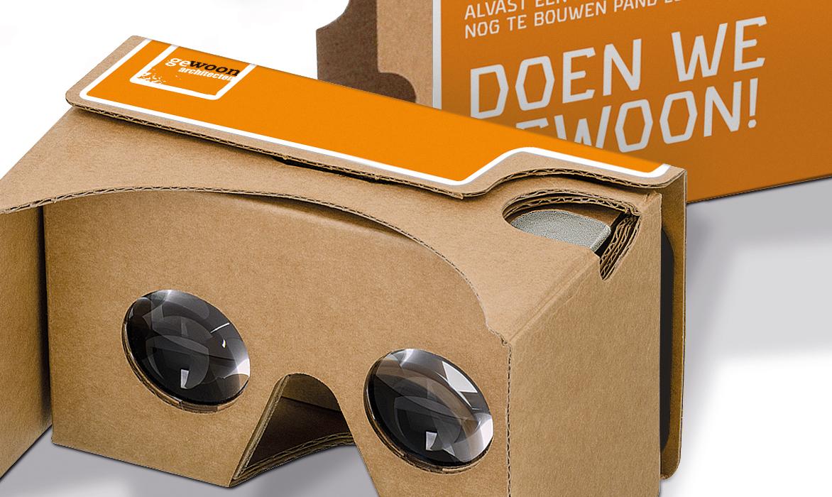 Ontwerp Virtual Reality bril – geWOON architecten